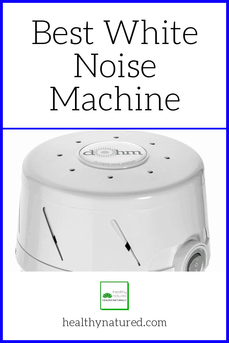 Get the Best White Noise Machine! The Marpac Dohm produces electronic sound signals which mask disruptive background sounds to promote healthy sleep and relaxation.