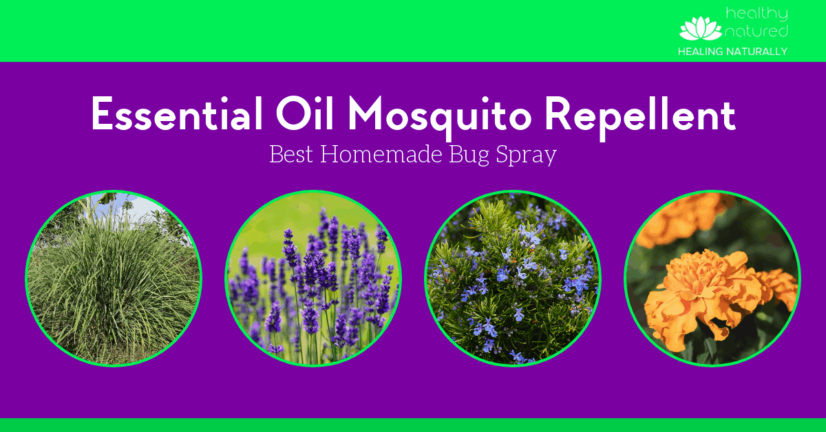 Best Essential Oil Mosquito Repellent Recipes (Easy Homemade Bug Spray)