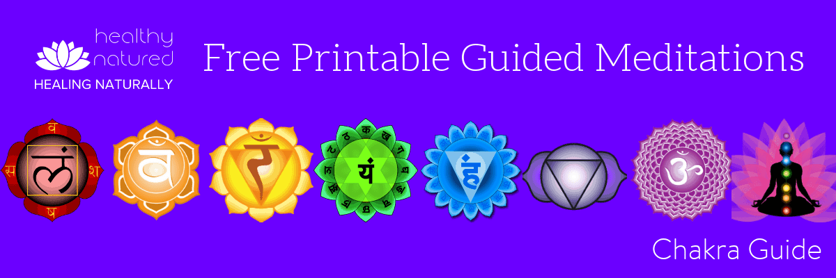 Free Printable Guided Meditations - Chakra Guide