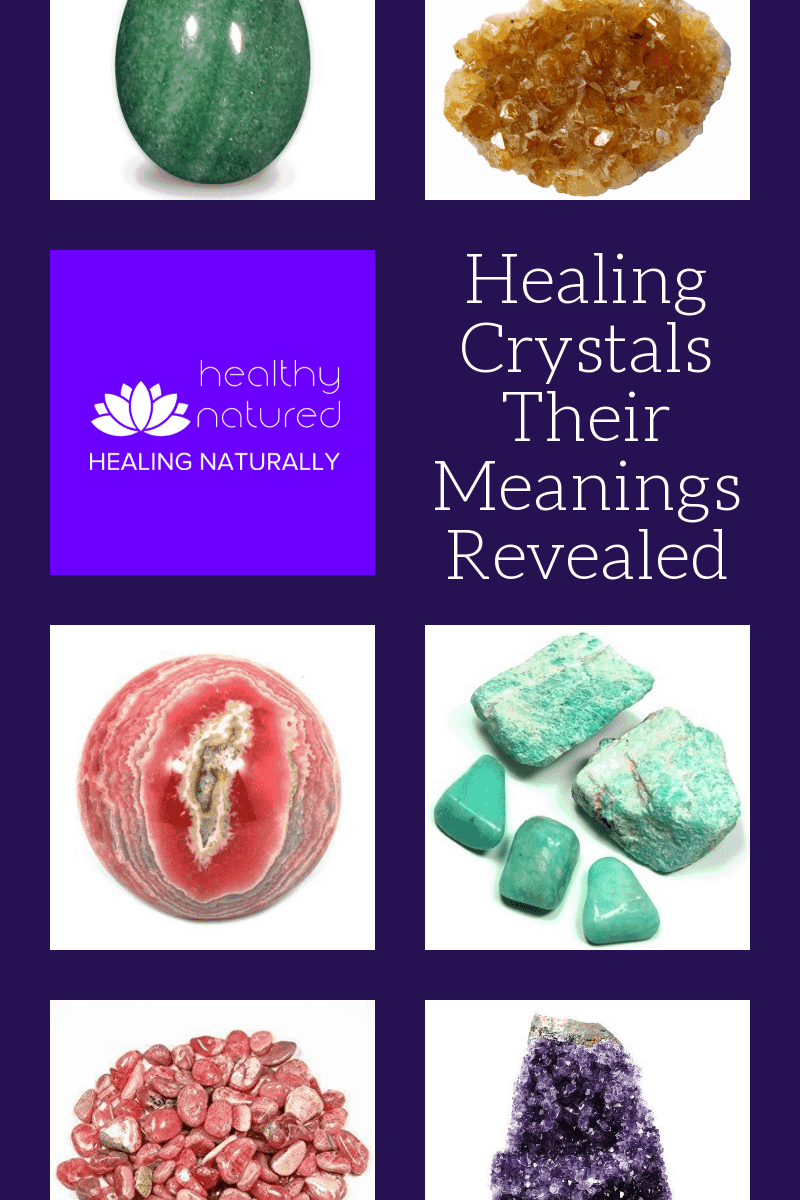 Healing Crystals their meanings revealedwas written to offer specific guidance when choosing the best natural healing stones and to give an overview of the benefits each type of crystal has on our physical, emotional and spiritual health.  Learn which Healing Crystals you should add to your home and work environment.