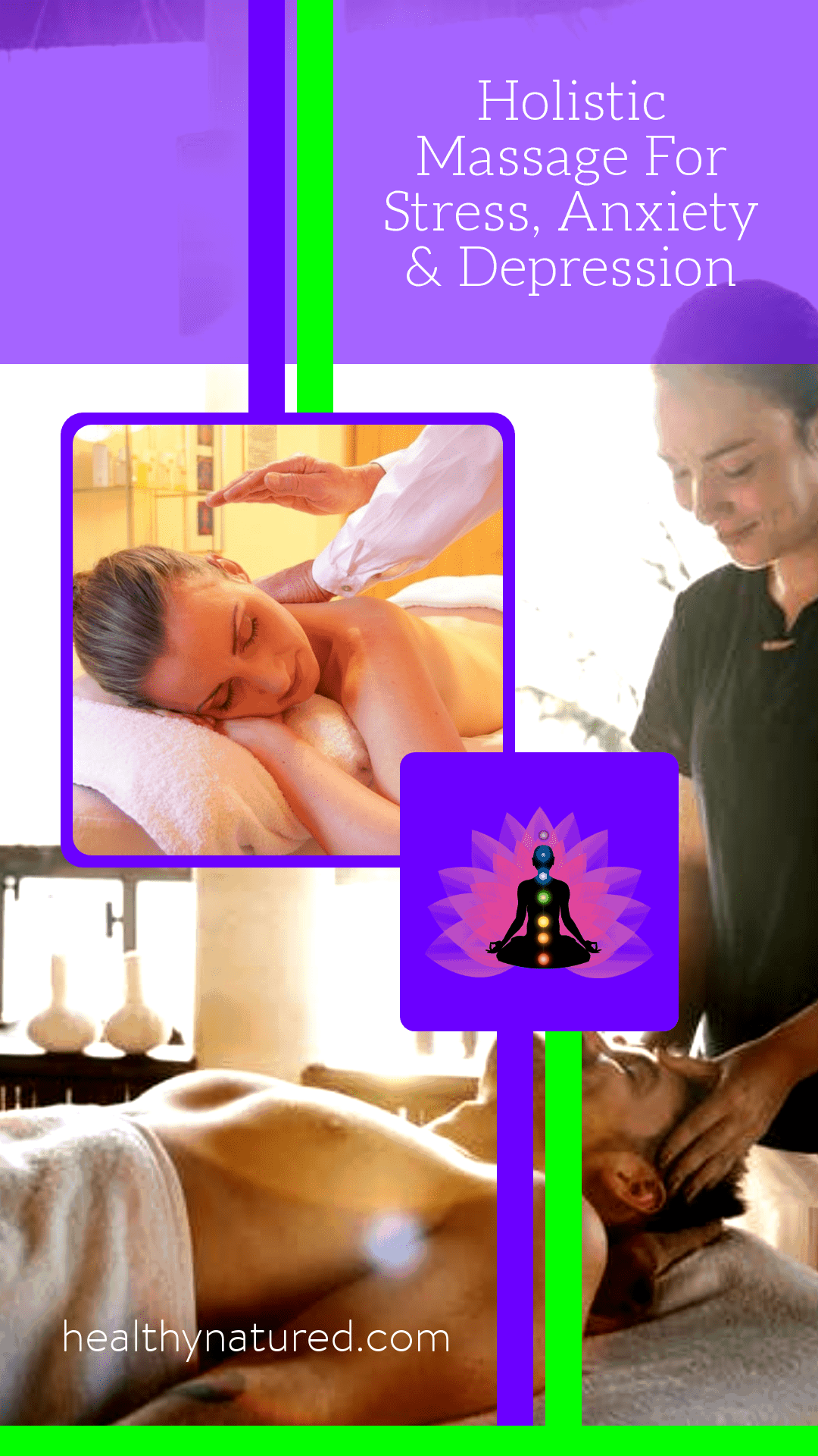 If you have ever searched for natural methods to treat anxiety and stress you will find a myriad of suggestions.  This post focuses on holistic massage, a safe and proven treatment which is effective in significantly reducing the symptoms of stress and anxiety.