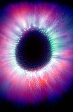 aura colors with kirlian photography