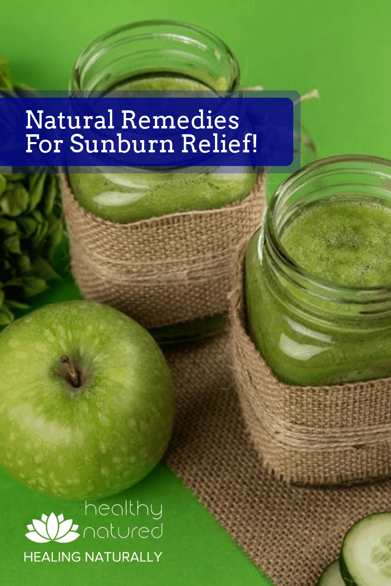 How do I treat sunburn naturally? Here are 12 of the best sunburn relief home remedies. These remedies are effective and easy to prepare.