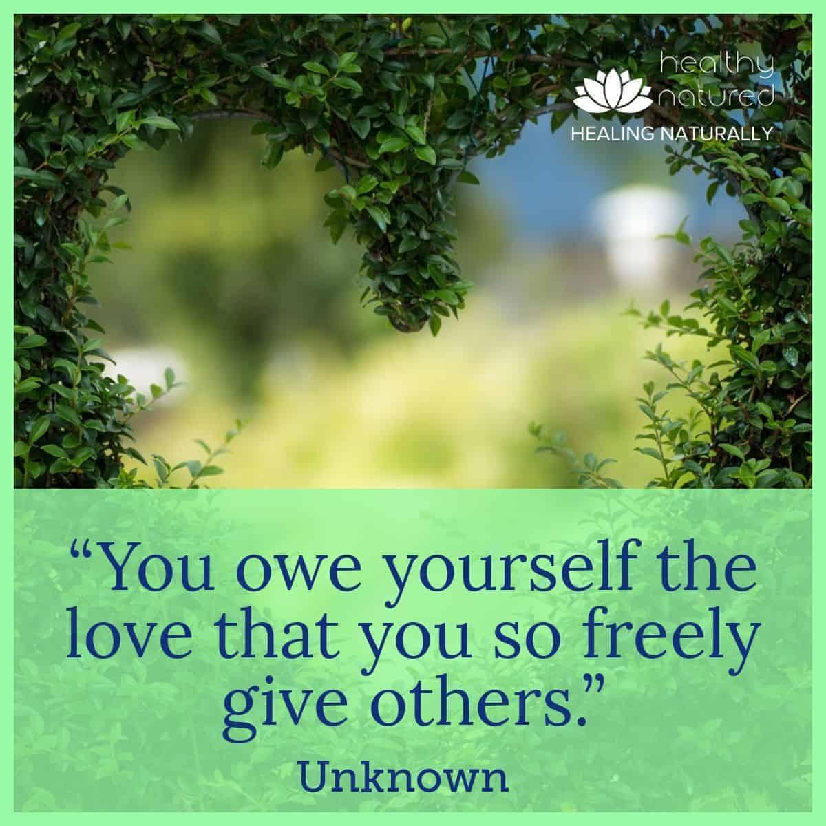 Self Love - Improve Health Outcomes For Self Care