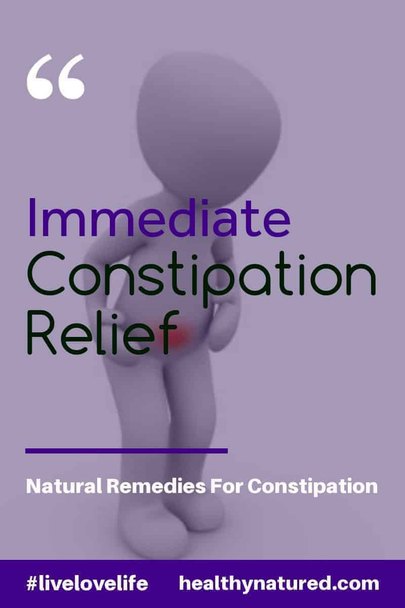 Constipation is often a condition left untreated as people are embarrassed to speak about it.  In this article we give you 6 Natural Constipation Remedies that provide near immediate constipation relief.