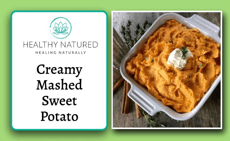 Creamy Mashed Sweet Potato