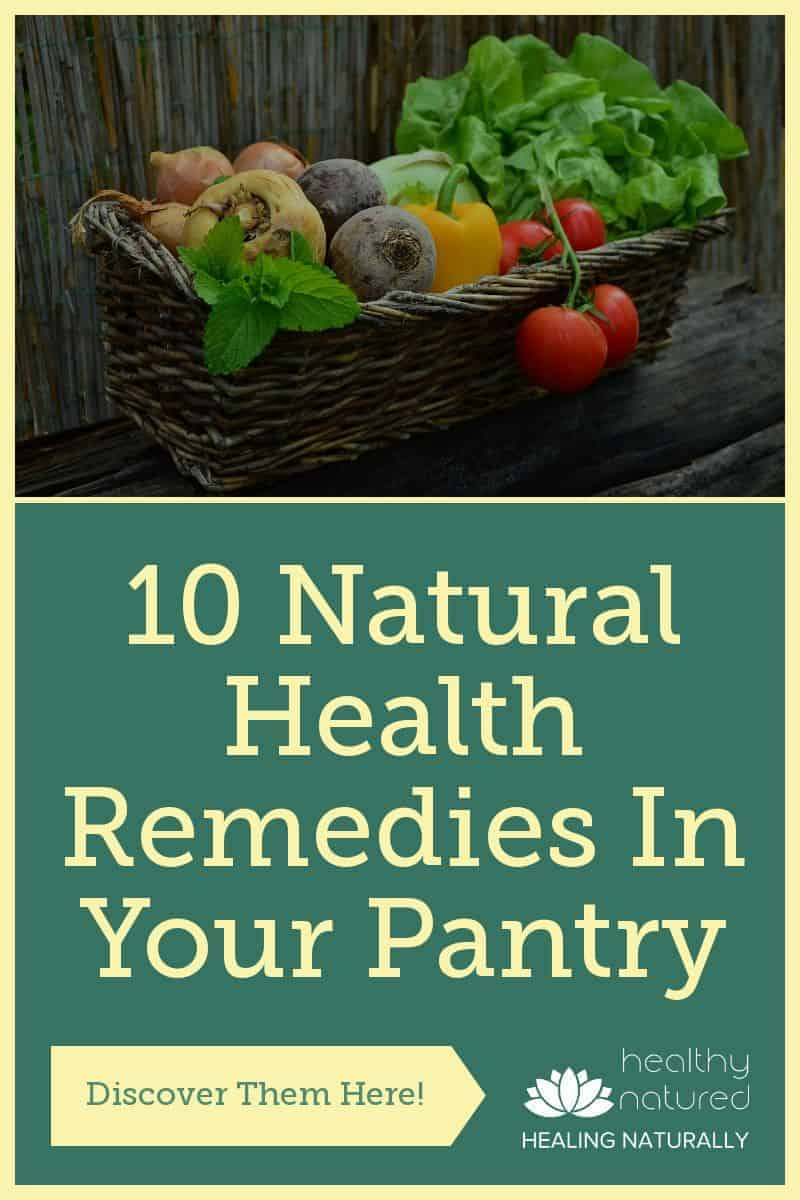Discover 10 Natural Health Remedies in your pantry.  We all know that we need to ensure our daily food intake includes the right types of food.  This includes those that we know will boost our bodies absorption of minerals, vitamins, and nutrients.