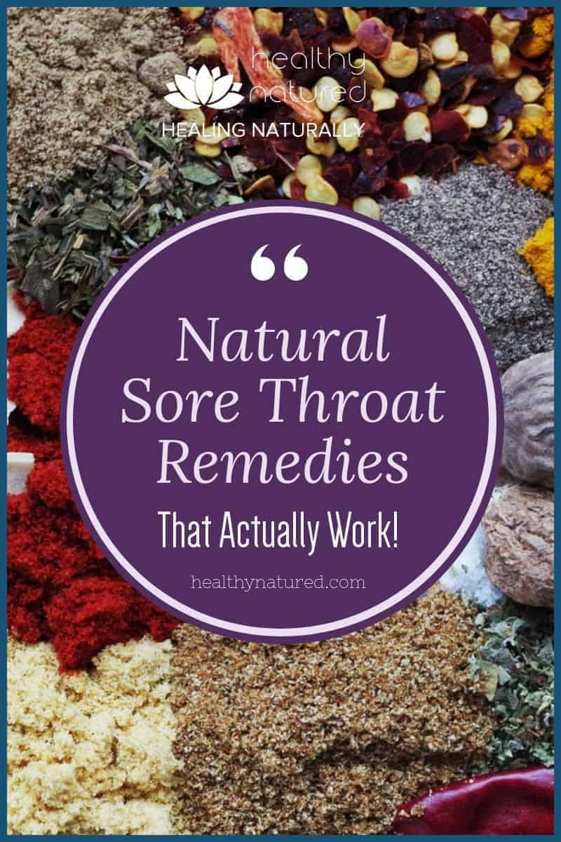 Discover the best 7 natural sore throat remedies. These are easily made at home. Don\'t suffer, these remedies are easy to use and proven to be effective.