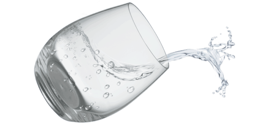 water is one of our natural sore throat remedies