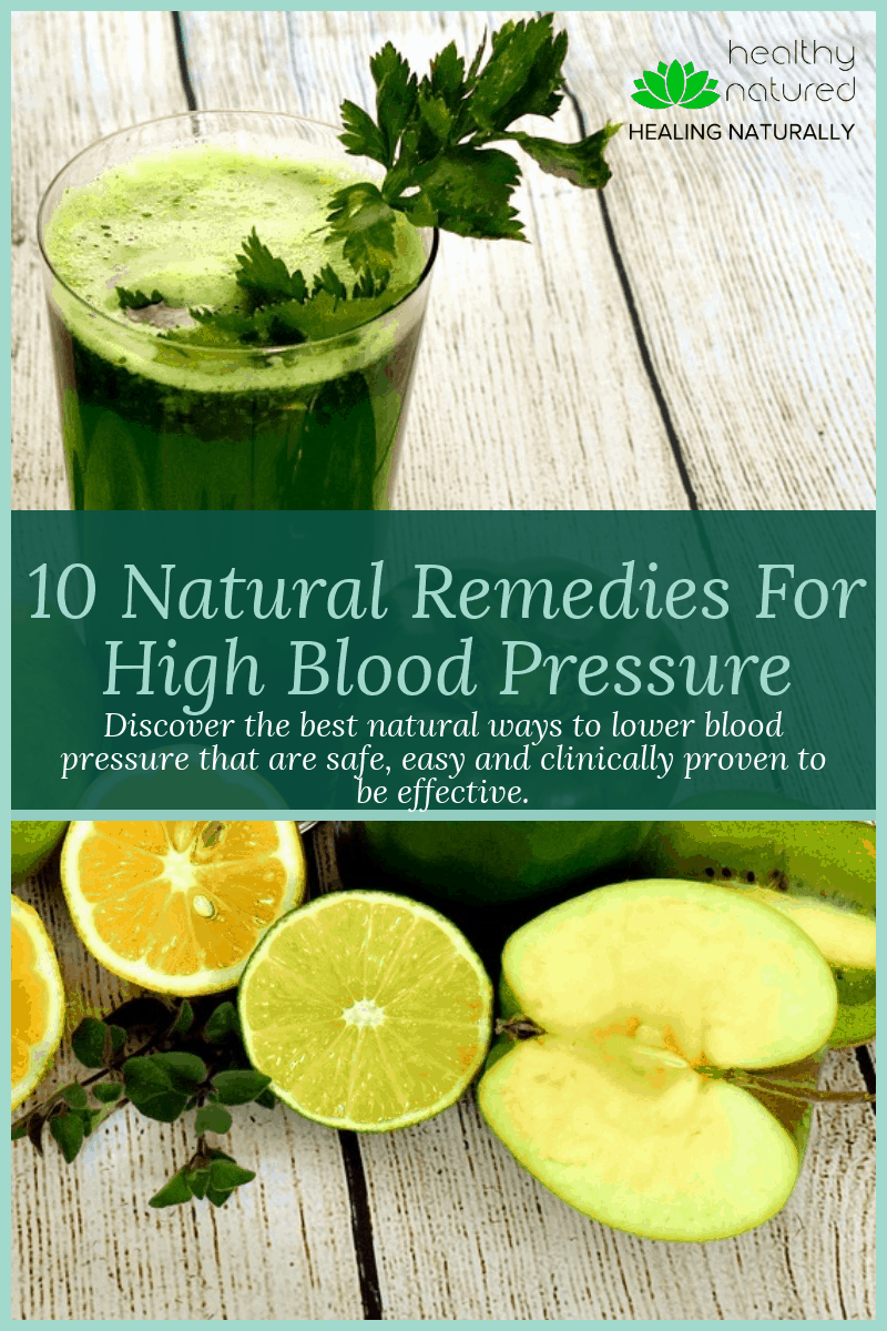 Discover the 10 best natural remedies for high blood pressure.  Every year more and more people are being diagnosed with hypertension and related health disorders.  What many don\'t know is that there are natural ways to lower blood pressure that are safe, effective and alternatives to pharmaceuticals.