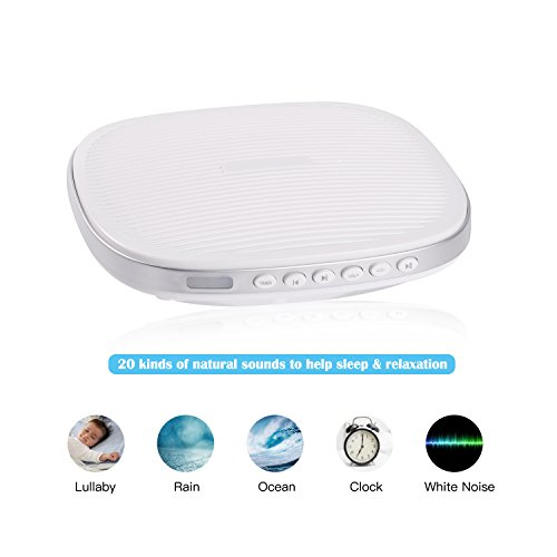 Best Sound Therapy White Noise Machine Sleep Well In 2018