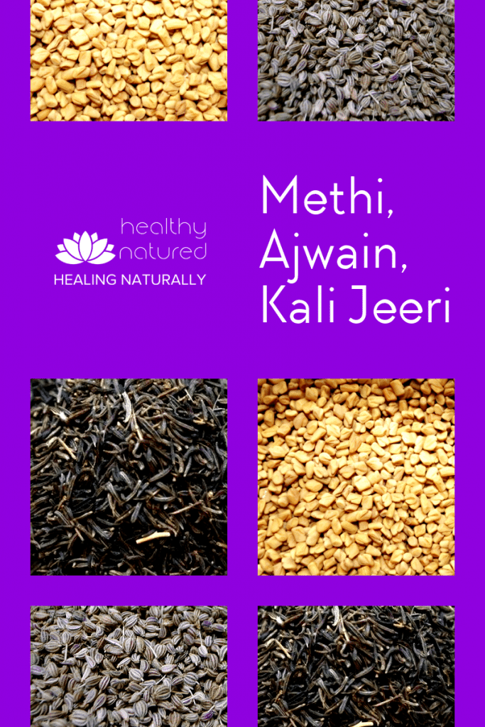 Discover the easiest and most effective of all the belly fat burning foods. Methi Ajwain Kali Jeeri Powder is the powdered mix of 3 well known seeds (Fenugreek, Carom/Caraway, Black Cumin) #bellyfat #loseweight #livelovelife