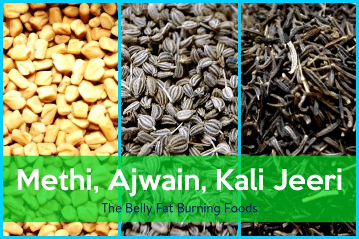 Methi Ajwain Kali Jeeri Weight Loss Powder