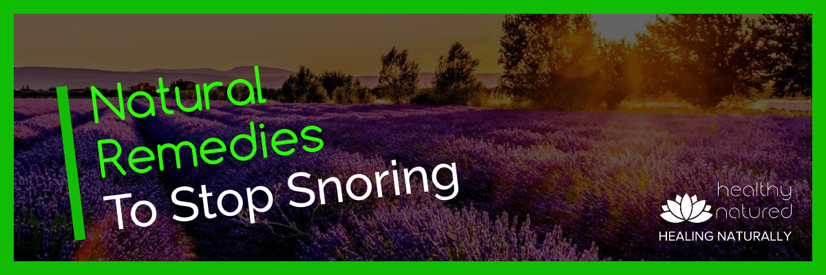 Natural Remedies To Stop Snoring