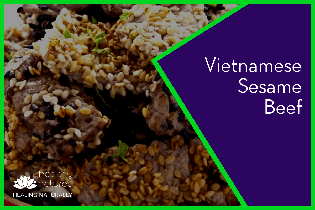 Vietnamese Sesame Beef – The Belly Fat Burning Foods Guide 2018