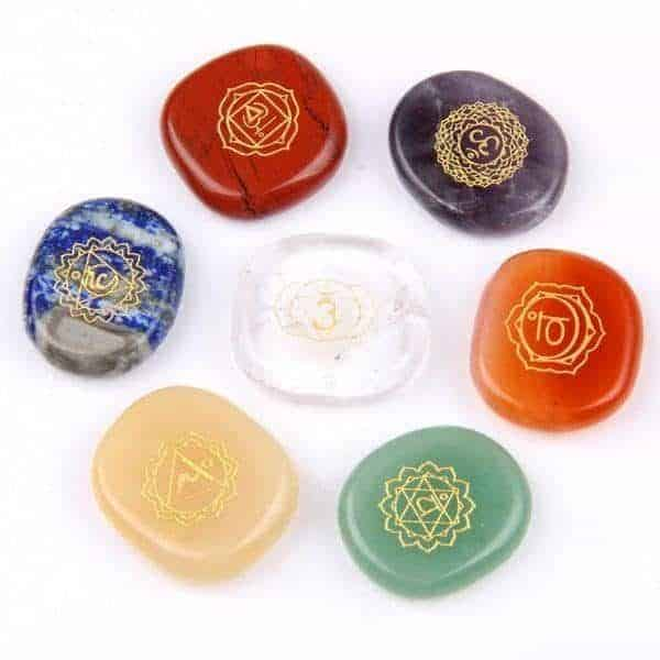 Chakra Healing Crystal Set
