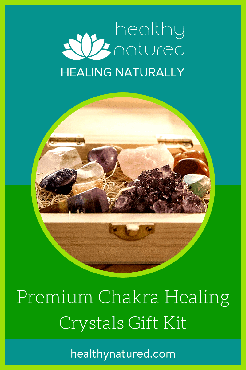 Learn how to use crystals to cleanse, clear, balance, regulate, and re calibrate your chakras.  Feel more relaxed and revitalized, with recharged energies of body, mind, and spirit. Gain great health and an extra edge in life with this awesome chakra healing crystals kit.