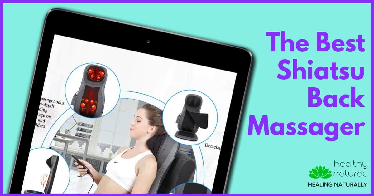 Best Back Massagers – The Naipo Shiatsu Back Massager.