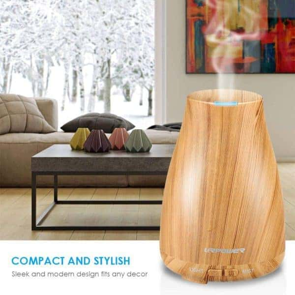 URPOWER 2nd Version Essential Oil Diffuser (6 Hour Home
