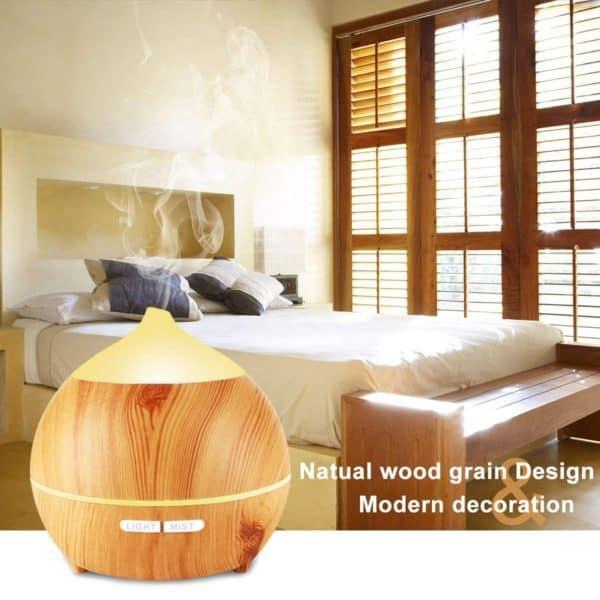 Ultrasonic Diffuser for Essential Oils decor