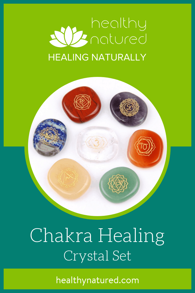 This set of chakra healing crystals are beautiful and soothing bringing balance and a sense of calm. Great for healing body, mind and spirit.