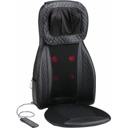 Tekjoy Back Massager Shiatsu Massage Seat Cushion for Full Back and Neck with Heat Function