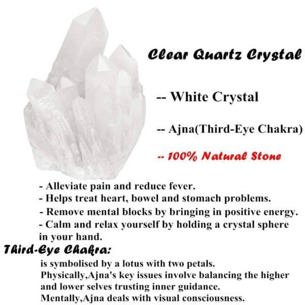 Healing Rock Clear Quartz Crystal chakra