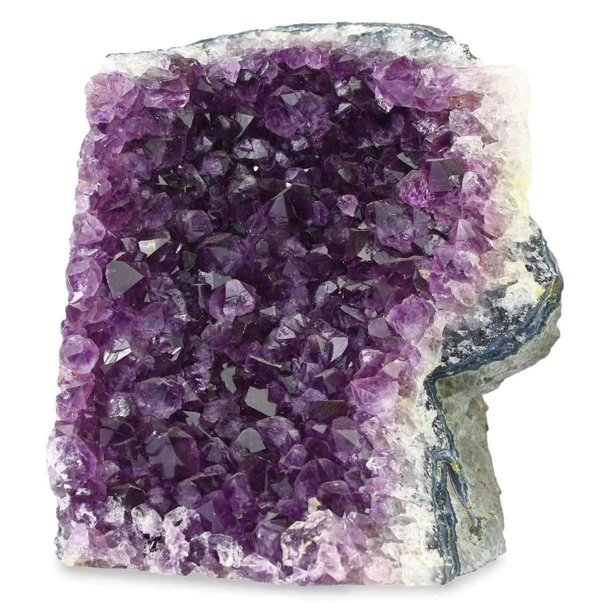 Natural Amethyst Citrine And Crystal Quartz Clusters From