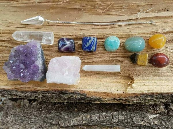 Natural Chakra Stones Set