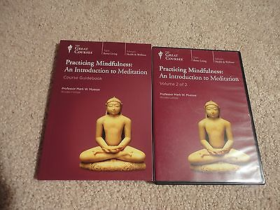Great Courses: PRACTICING MINDFULNESS Intro Meditation CD VOLUME 2 + Guidebook