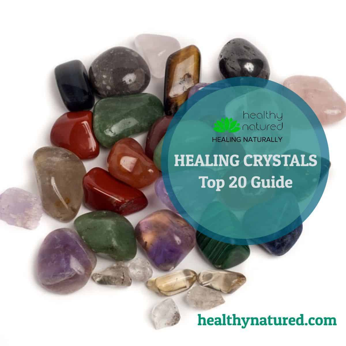 If you are interested in Healing Crystals then this post it for you!  It contains our Top 20 Crystals for healing.  These are the crystals that we can't be without!