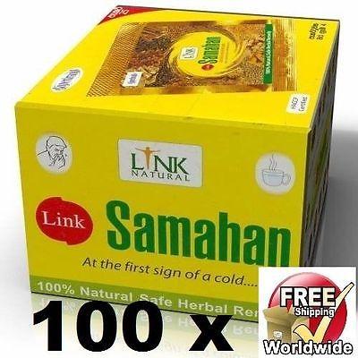 100 Samahan Ayurveda Herbal Tea Natural Drink For Cough &Amp; Cold Remedy