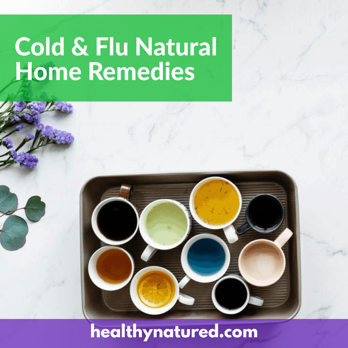 Cold And Flu Symptoms - Feel Great Again With Natural Home Remedies