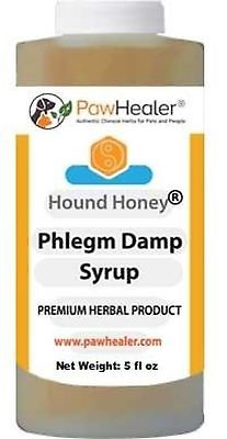 Phlegm Damp Cough Syrup: Hound Honey - (5 Fl Oz) Natural Herbal Remedy For Sy...