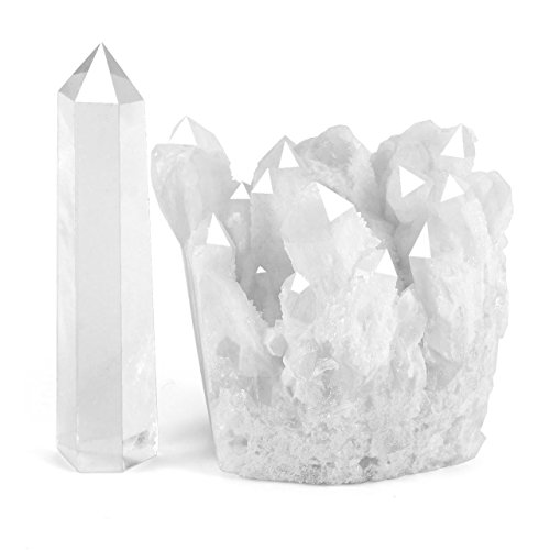 Healing Rock Crystal Clear Quartz (White Quartz Cluster) 1
