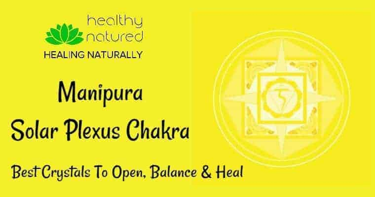 Solar Plexus Chakra Healing and crystals to heal Manipura
