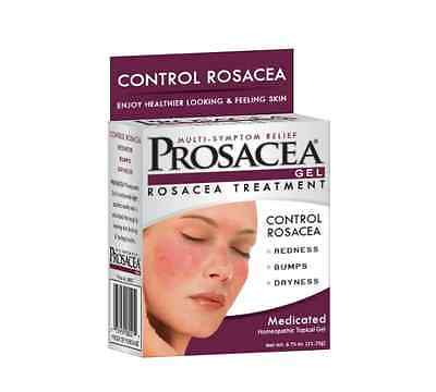 PROSACEA Rosacea Treatment Homeopathic Topical Gel, .75 oz