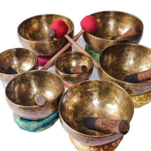 Chakra Healing Tibetan Singing Bowl Set Of 7