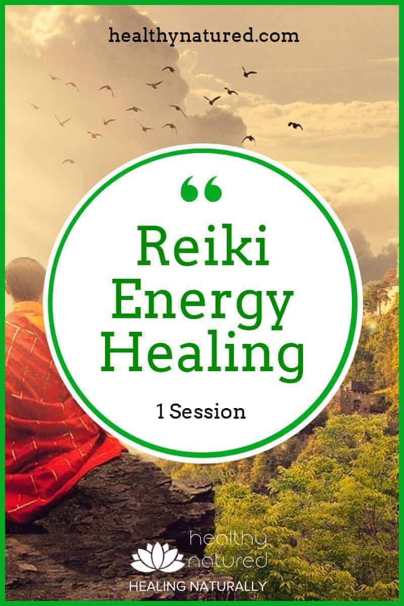 Reiki Energy Healing (1 Session With Reiki Master Teacher)