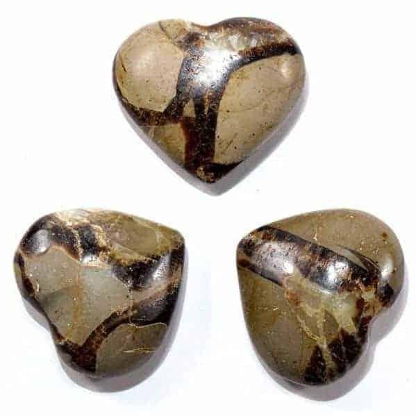Septarian Dragon Stone Heart