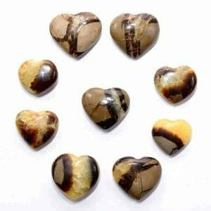 Septarian Dragon Stone Heart