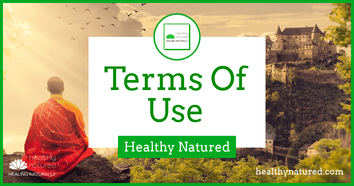 Terms of Use – HealthyNatured Terms And Conditions