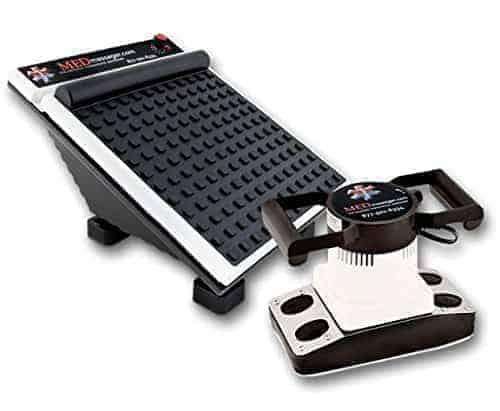 medmassager variable speed foot body massager combo