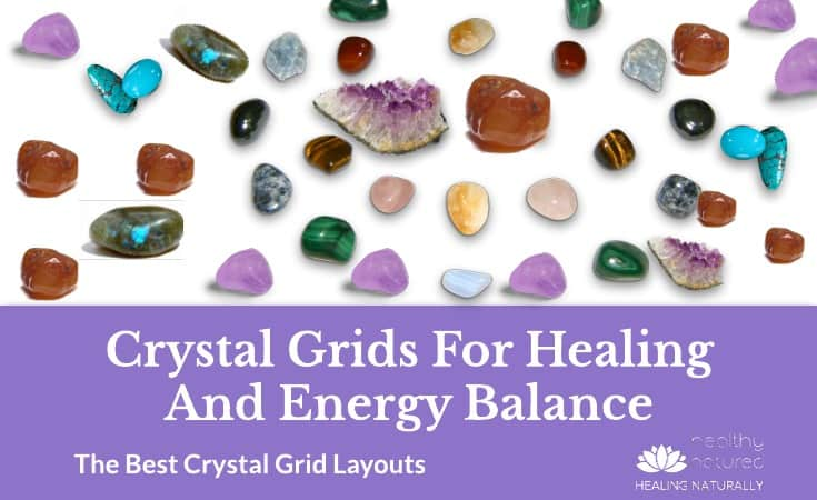 Crystal Grid Layouts for Energy Balance