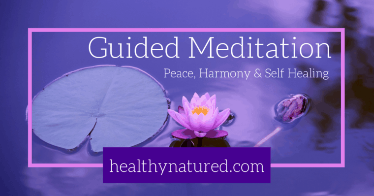 Guided Meditation For Peace, Harmony and Self Healing