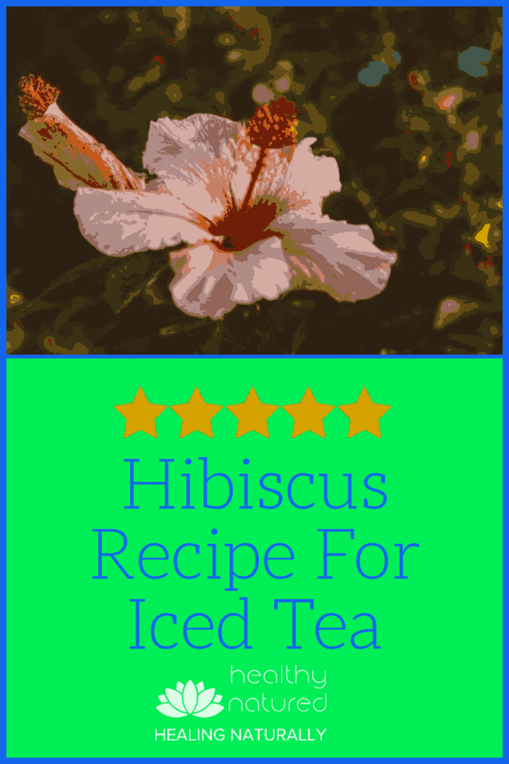 Hibiscus Recipe For Iced Tea pin