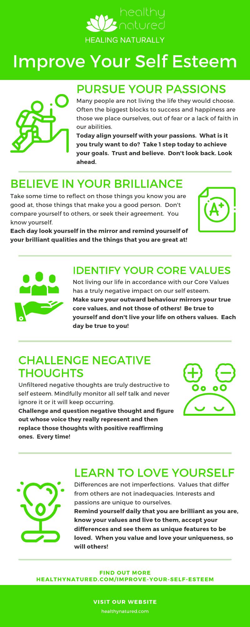 Improve Your Self Esteem - Ways To Boost Your Self Esteem