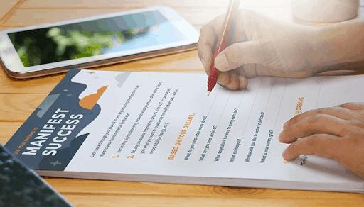 Manifest Success- Keep A Dream Journal