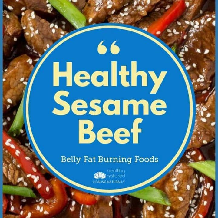healthy Vietnamese Sesame Beef Recipe - Belly Fat Burning Foods