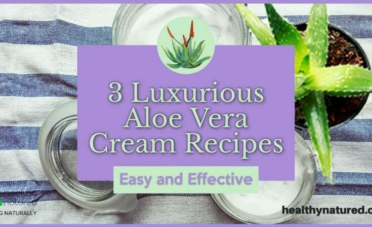 3 Luxurious Aloe Vera Cream Recipes